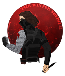 Marvel - The Winter Soldier by LadyZolstice