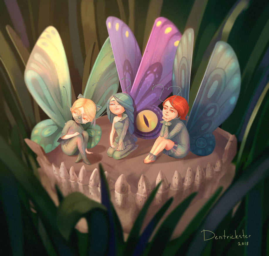 Butterflies by DenTrickster