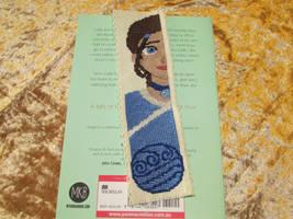 Katara Cross-Stitch bookmark by DaydreamQueenMisha