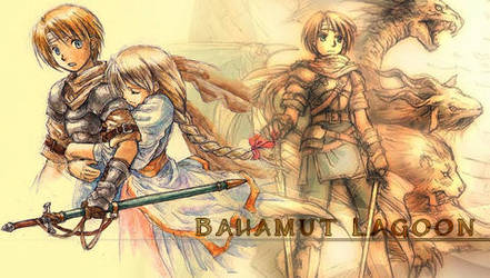 PSP - Bahamut Lagoon by TheIceHawk