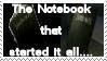 Death Note stamp by dreamwriter2010