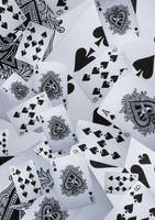 Playing card stock background by candy-lace-stock