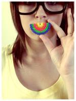 Rainbow Stylin, Rainbow Smilin by ellemm