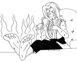 Hot day in Konoha by Dafootclan