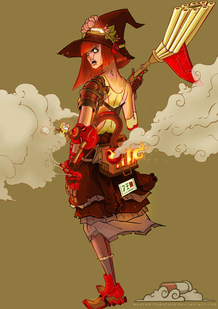 steam witch by wasted-hopeless