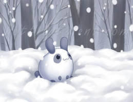 Snow Bunny by celesse