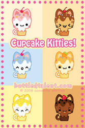 Cupcake Kitties by celesse
