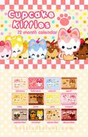 Cupcake Kitties Calendar by celesse
