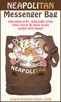 Neapolitan Messenger Bag by celesse
