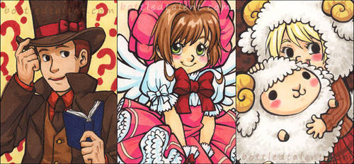 10-11 Card Doodles by celesse