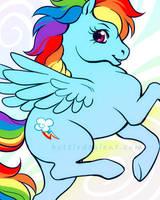 Rainbow Dash by celesse