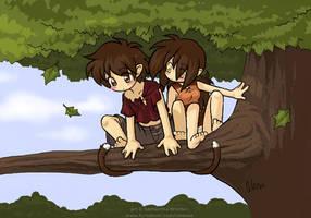 Sittin' in a tree by celesse