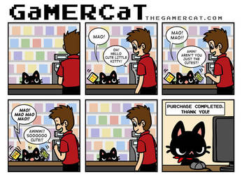 GaMERCaT - Zelda 2 by celesse