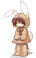 Bunny outfit by celesse