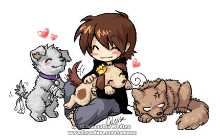My puppies by celesse