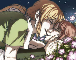 Flower Kisses by celesse