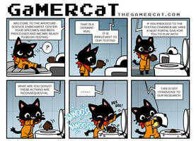 GaMERCaT - Toilet Science by celesse