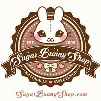 Sugar Bunny Shop Logo by celesse