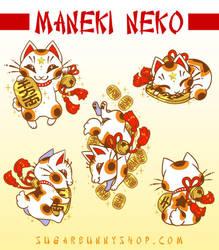Maneki Neko by celesse