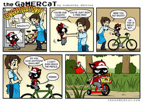 The GaMERCaT - Low Rider by celesse