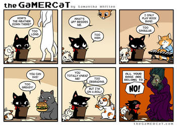 The GaMERCaT - Cats by celesse