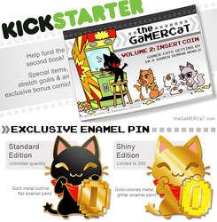 The GaMERCaT Volume 2 Book Kickstarter! (ENDING!!) by celesse