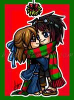 Chibi commission - AnimeMachoF by celesse