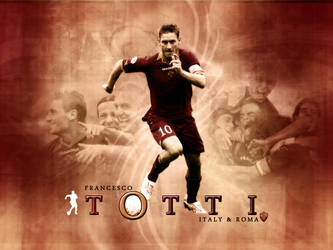 totti wall by 44magnum