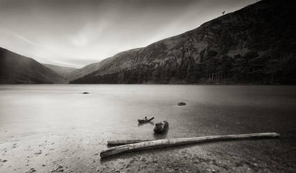 Glendalough Upper Lake by SewerRar