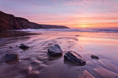 Rocky Bay Sunrise II by SewerRar