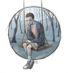 'Stranger things' fan art by Juli556