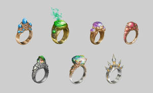 Magic rings by JeanRoux