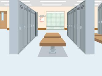 kisekae background 5: Locker Room by Anymouse-68