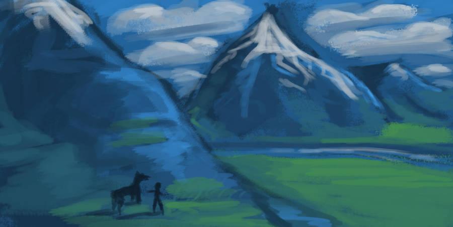Landscape Attempt by IvurNave
