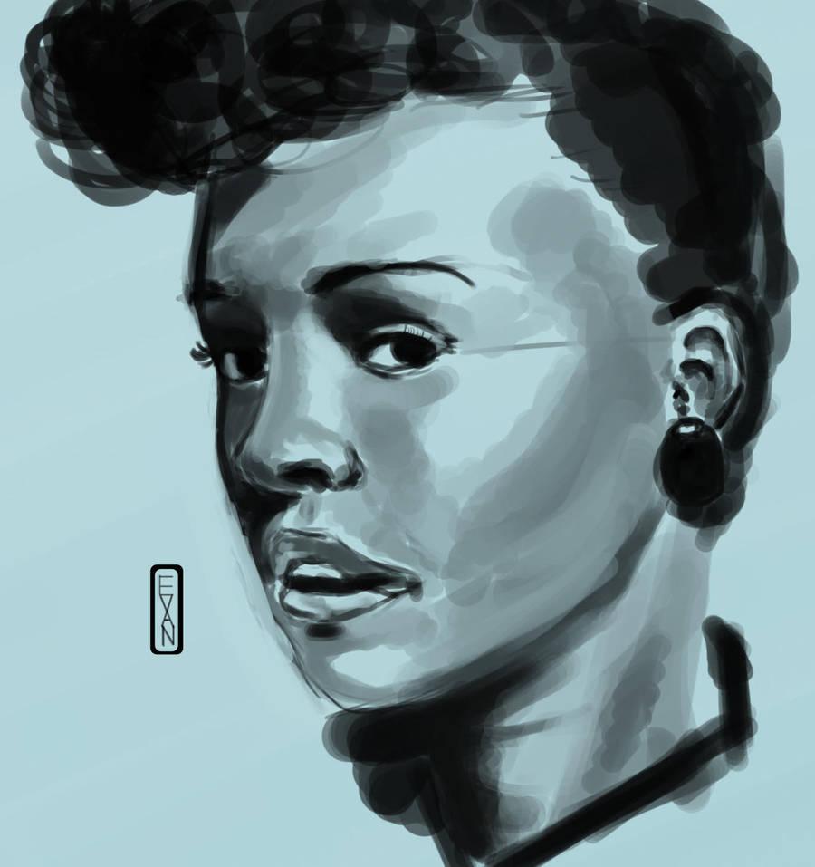 Janelle Sketch by IvurNave