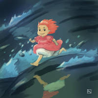 Little Fishy in the Sea by IvurNave