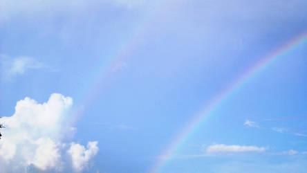 Double Rainbow by PandarenBabe