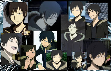 Izaya Wallpaper by Yumkie