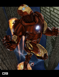 Knight in Iron Armor by zerodrk