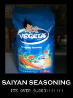 Vegeta Seasoning by kurisu18