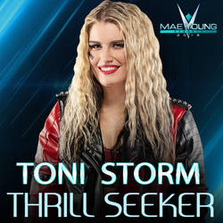 Toni Storm - Thrill Seeker [Custom Cover] by JohnnyGat1986