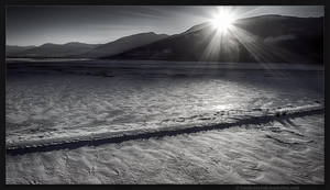 Duck Lake Sunset by kootenayphotos