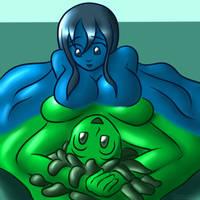 Symmetrical Slime by DoodleDowd