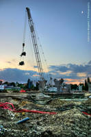 Crane in the sky HDR by HDRenesys