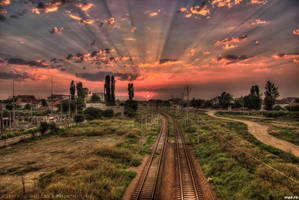 Sunset in HDR by HDRenesys