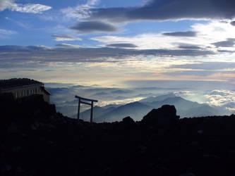Summit of Mount Fuji, Japan by akiba16