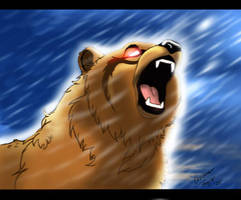 Grizzly Bear by chrissi-dinos