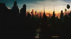 Dream Town 2 by Grivetart