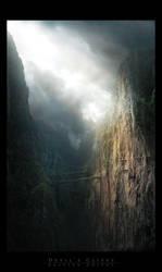 Devil's Cliffs by Grivetart
