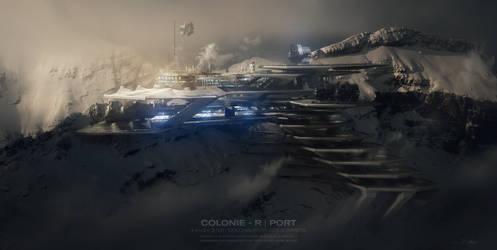 COLONIE R PORT - 2100 by Grivetart